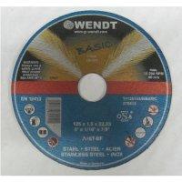 Круг отрезной 125х1,5х22 A46 Basic (WENDT)