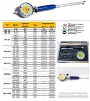 Нутромер индикаторный НИ 50-160 0,01 кл.1 (калибровка ISO 17025) Микротех®