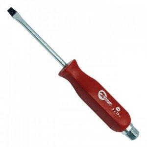 Викрутка шліцева ударна SL 5 мм * 75 мм, CrV (Intertool, HT-0481)