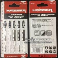 Пильное полотно HAISSER T 101 D - н-р 5 шт, 75 мм, по дереву