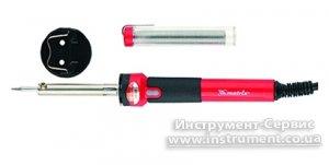 Паяльник 30W, 220, пласт. ABS, клас захисту 1, індикатор, мідний накінечник з довговіч. покриттям (MTX, 9130439)