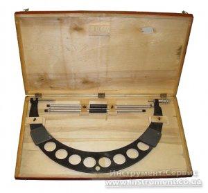 Мікрометр гладкий МК-500 0,01 кл.1 (Кіров, СРСР)