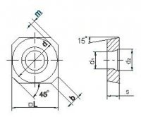 Пластина твердосплавная SDCW-0903