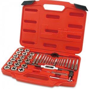 Набір мітчиків та плашок 40 шт. М3 - М12 (TOPTUL, JGAI4001)