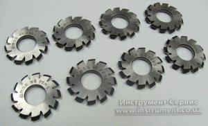 Фреза дисковая модульная m=0,4 комплект 20* Р6М5