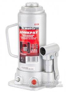 Домкрат гидравлический бутылочный 10 т. h подъема 230-460мм (MTX MASTER, 507259)