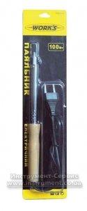 Паяльник 100 W, дерев'яна ручка, Work's (W60110)