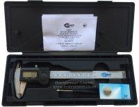 Штангенциркуль электронный ШЦЦ-I-150 - 0,01 влагозащищенный IP54 (GRIFF)