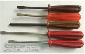 Отвертка шлицевая 165 x 0,8 x 5,5 оксид (Львов)