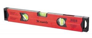 Уровень алюминиевый, 600 мм, фрезерованный, 3 глазка (1 зеркальный), усиленный MATRIX (MTX, 347069)