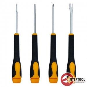 Набор точных отверток 4 шт. (InterTool, HT-0404)