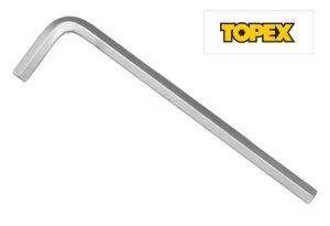 Ключ шестигранный 19 мм. (Topex, 35D919)
