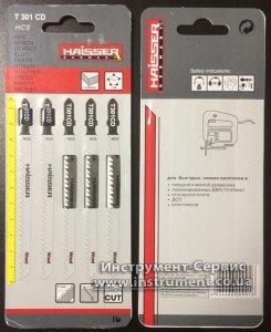 Пильное полотно HAISSER T 301СD - н-р 5 шт, 90 мм, по дереву
