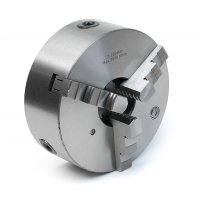 Патрон токарный 3-х кулачковый Ф 200 мм. 7100-0007П на планшайбу, тип 1 (Fuerda)