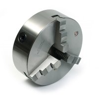 Патрон токарный 3-х кулачковый Ф 250 мм. 7100-0035П на конус М6, тип 2, S=10мм (Fuerda)