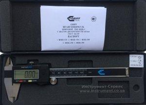 Штангенциркуль электронный ШЦЦ-I-125 - 0,01 (GRIFF, D168002)