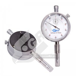 Індикатор годинникового типу ИЧ-10 - 0,01 кл.1 з вушком (GRIFF)