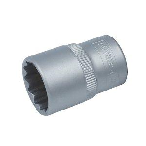 """Головка торцевая 14 мм, 1/2"""", 12-гранная, CR-V Satine (Haisser, 70147)"""