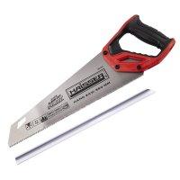 Ножовка по дереву 350 мм, 11TPI, 3D, SK5, Direct (HAISSER, 40164)
