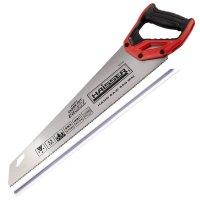 Ножовка по дереву 450 мм, 11TPI, 3D, SK5, Direct (HAISSER, 40166)
