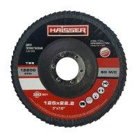 Круг шлифовальный лепестковый 125х22 Р36 Т29 (Haisser, 5411701)
