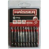 Набор бит PH2х70 мм, S2, 10шт (Haisser, 2712705)