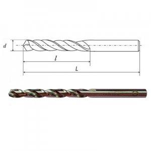 Сверло ц/х Ф 0,6 А1 Р6М5К5 (HSSCo5) (IS)