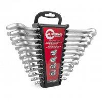 Набор ключей комбинированных 12 шт. дюймовых 1/4''-15/16'' (Intertool, HT-1303)