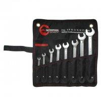 Набор комбинированных ключей 8 шт. (Intertool, XT-1002)
