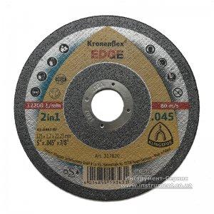 Круг отрезной 125х1,2х22 EDGE (Kronenflex)