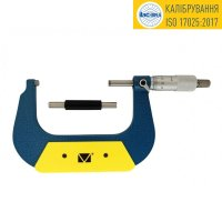 Микрометр гладкий МК-75 0,01 кл.1 (калибровка ISO 17025) Микротех®