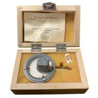 Головка измерительная пружинная малогабаритная (микатор) 05ИПМ 0,5 мкм (Измерон, СССР)