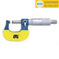 Микрометр гладкий МК-25 0,01 кл.1 (калибровка ISO 17025) Микротех®