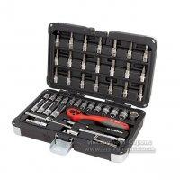 Набор инструмента 1/4, Cr-V, S2, усиленный кейс, 47 предметов (MTX Professional)