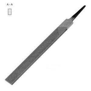 Напильник плоский 400 №3 тупоносый (коррозия)