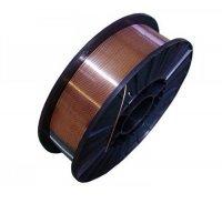 Проволока сварочная омедненная СВ-08Г2С, диаметр 0.8мм, вес 4.5кг (WERK)