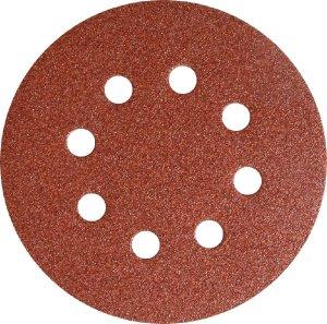 Шлифовальный круг на липучке PS 18 EK 125 mm зерно Р180 GLS 5 (Klingspor, 270552)