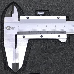 Штангенциркуль ШЦТ-I-150 0,05 губки 40 мм, тв.спл. разметочный (GRIFF, D163005)