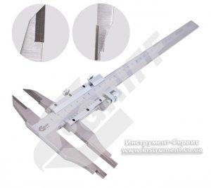 Штангенциркуль ШЦТ-II-300 0,05 губки 60 мм, тв.спл. разметочный (GRIFF, D163108)