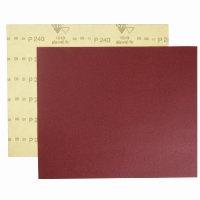 Шлифшкурка на бумаге Р 240, 230*280мм, водостойкая, красная (SIA Abrasives)