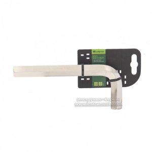 Ключ шестигранний 18 мм. нікель, сталь 45Х (Сибртех, 12349)