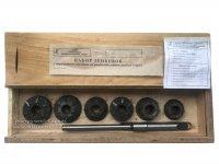 Набор зенковок с твердосплавными пластинами для ремонта седел клапанов двигателей СМД-14 (Винница)