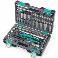 Набор инструментов 109 предметов, 12 гранные головки (STELS, 14122)