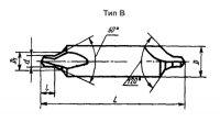 Сверло центровочное Ф 1,6 тип B Р6М5 хв.5мм (IS)