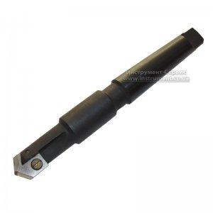 Сверло перовое сборное к/х Ф 32 мм КМ4 L=240 мм, пластина Р6М5 (ЗИТ)