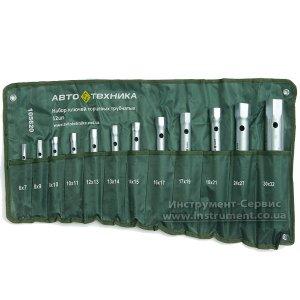 Набір торцевих ключів трубчастих 12 шт. (6х7-30х32) Автотехніка 105620