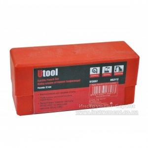 Клейма буквенные стальные 12 мм. кириллица (Utool, UKLP/12)
