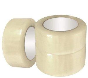 Скотч упаковочный прозрачный 48мм х 300м (Укрпром, 36011)
