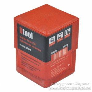 """Клейма цифровые 10 мм. Набор из 9 шт. """"0-9"""", твердость 58-62 HRC (Utool, UNP/10)"""