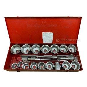 Набір торцевих головок ВИЗ-6А (36-80) 21 предметів (ВІЗ)